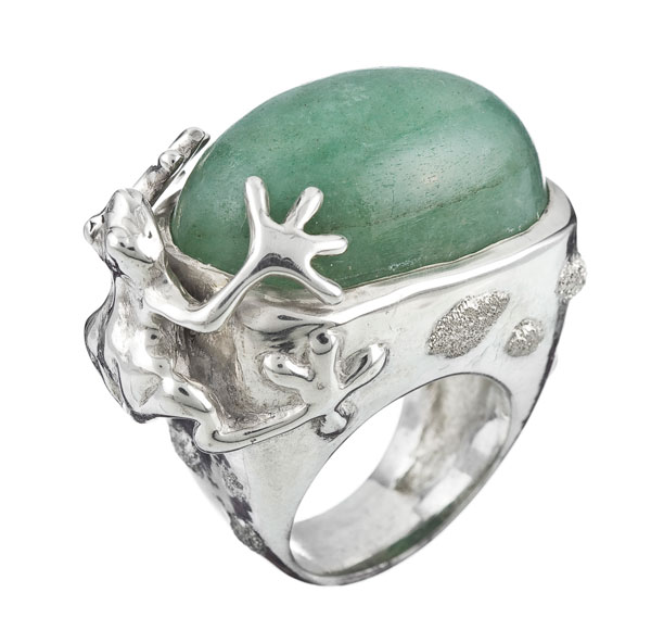 Anillo Kissing Frogs